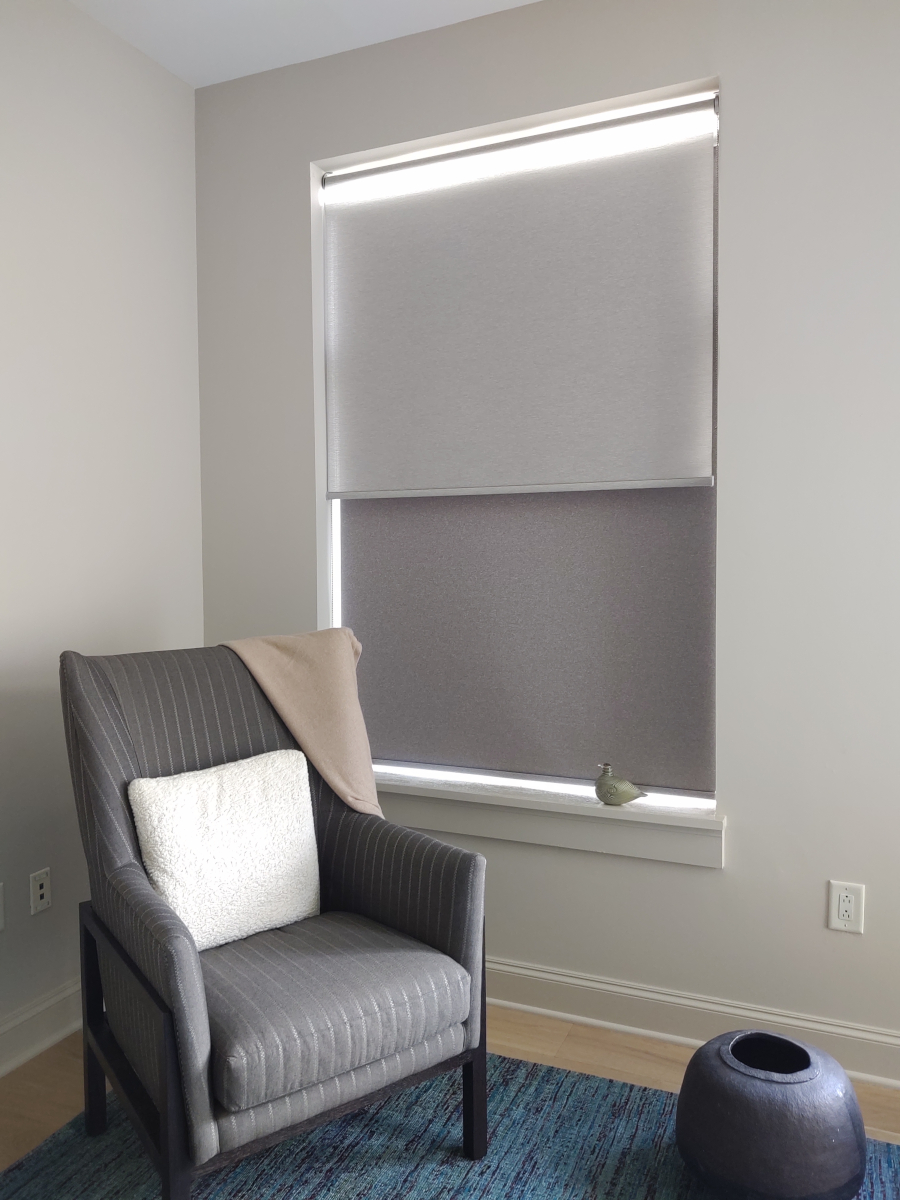 Dual Coulisse Shades- Raleigh, NC